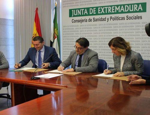AGENEX y la Junta de Extremadura firman un convenio para incorporar medidas de eficiencia energética en la reforma y construcción de edificios sociosanitarios