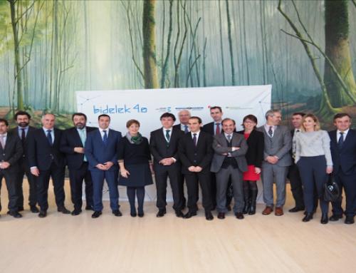 El Ente Vasco de la Energía, Iberdrola y la Diputación Foral de Bizkaia colaboran en el proyecto Bidelek 4.0