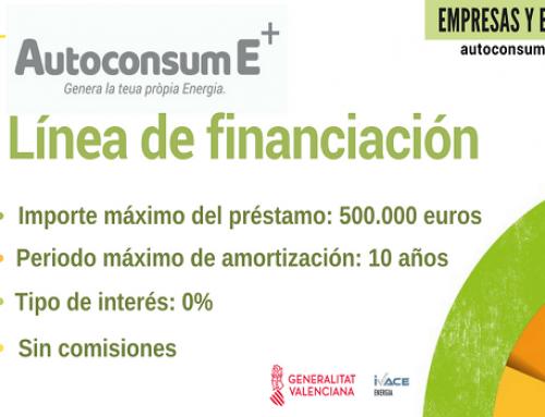 Se duplican las solicitudes de las empresas y ayuntamientos al Ivace para beneficiarse de la línea de financiación para el autoconsumo