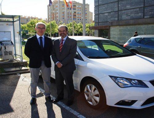NEDGIA Castilla y León y el EREN ponen en servicio en León la primera estación de carga de gas natural para vehículos de uso interno