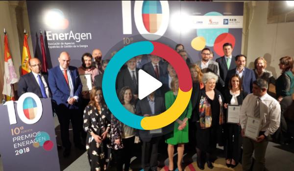 EnerAgen concede cinco galardones a las mejores iniciativas públicas y privadas en favor de la transición energética a nivel nacional