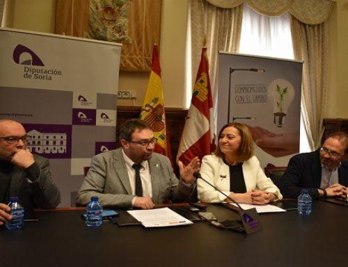 La Diputación de Soria gestionará 9,4 millones para cambiar el alumbrado de 94 ayuntamientos