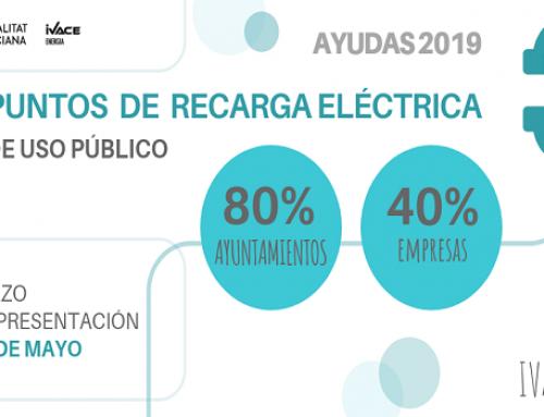 El Ivace impulsa la movilidad eléctrica con ayudas de hasta el 80% para la instalación de estaciones de recarga de uso público