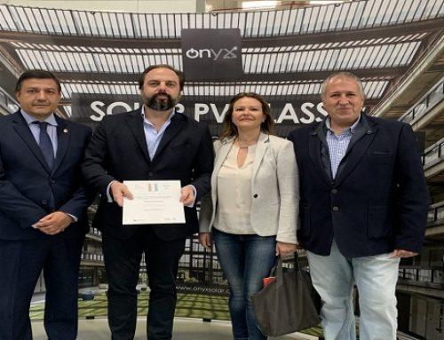 La Diputación de Ávila entrega a Onyx Solar el Premio EnerAgen a la Mejor Actuación en Materia de Energías Renovables