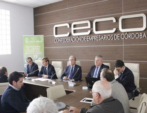 La Junta presenta en Córdoba su paquete de ayudas para una industria andaluza más eficiente energéticamente