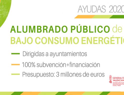 Ivace Energía destina tres millones para impulsar el alumbrado público de bajo consumo en los municipios