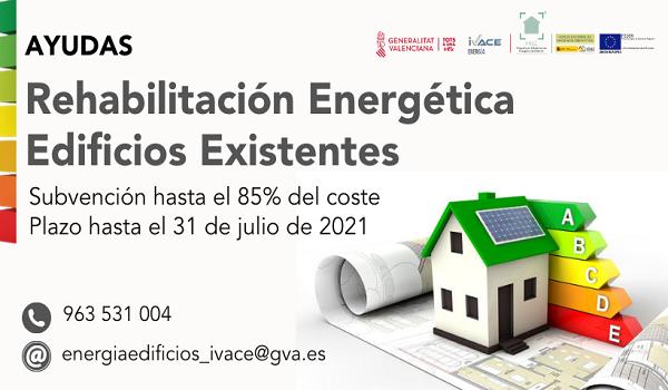 Ivace pone en marcha un programa de ayudas para la rehabilitación energética