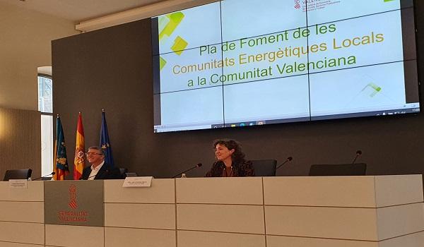 Todos los municipios del territorio valenciano contarán con comunidades energéticas en 2030