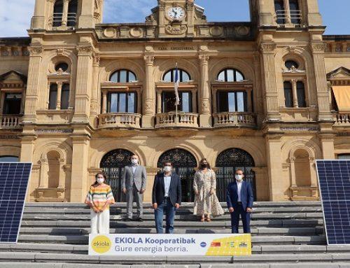 Donostia-San Sebastián será la primera capital de Euskadi en promover la cooperativa energética Ekiola